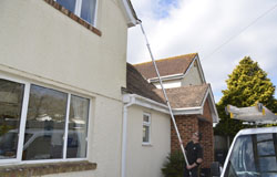 Gutter Cleaning Vac Unblocking